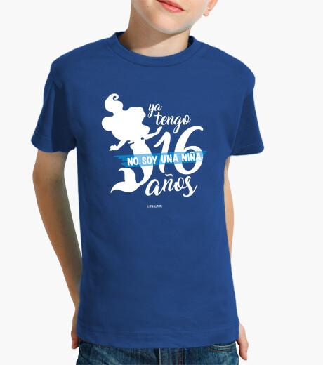 Tee-shirt enfant la petite sirène 16 ans