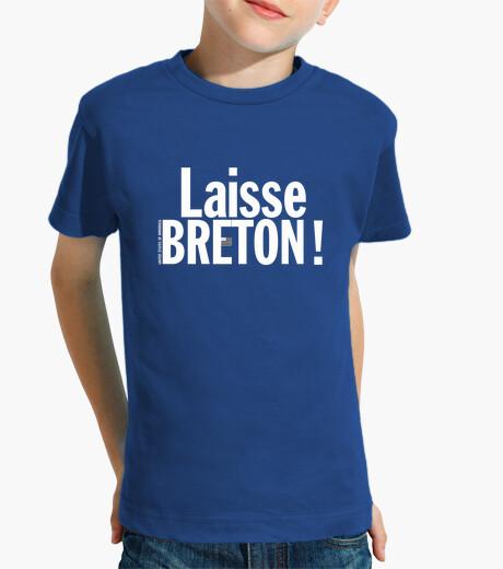 Tee-shirt enfant Laisse Breton !