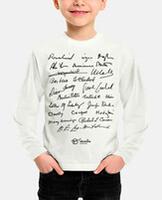 Tee-shirt enfant, manche longue.