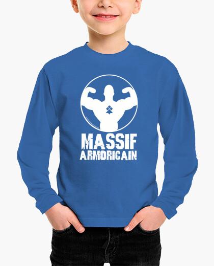 Tee-shirt enfant Massif Armoricain -...