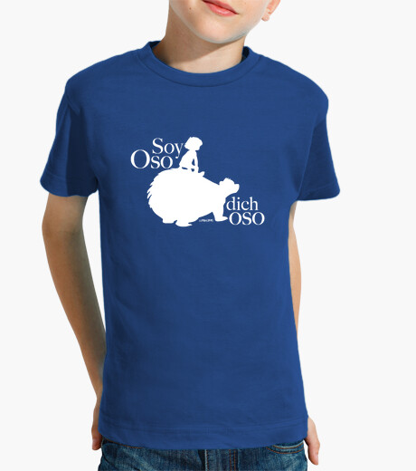 Tee-shirt enfant suis ours ours