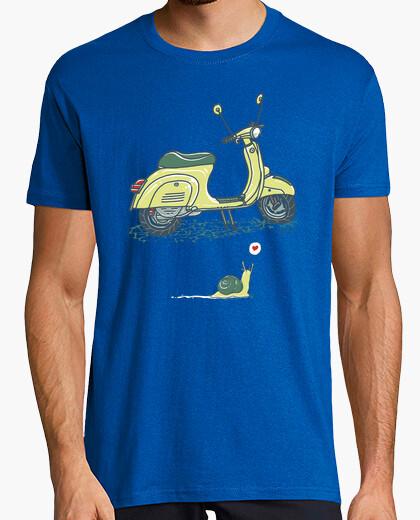 Tee-shirt Escargot et Scooter