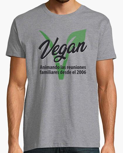 Tee-shirt famille végétalienne