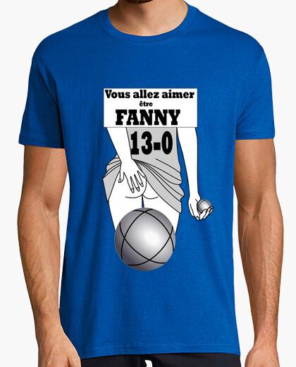 Tee-shirt Fanny pétanque FS