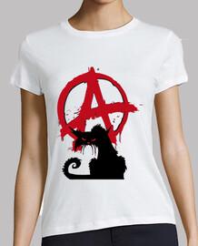 Tee-Shirt Femme - Anarchist Cat