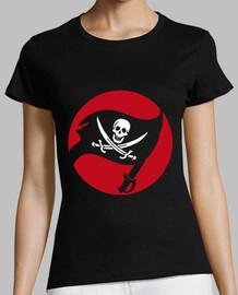 Tee-Shirt Femme - Calico Pirate Flag
