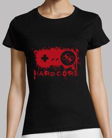 Tee-Shirt Femme - Hardcore Game Pad