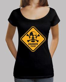 Tee-Shirt Femme - Heisenberg Danger Toxic
