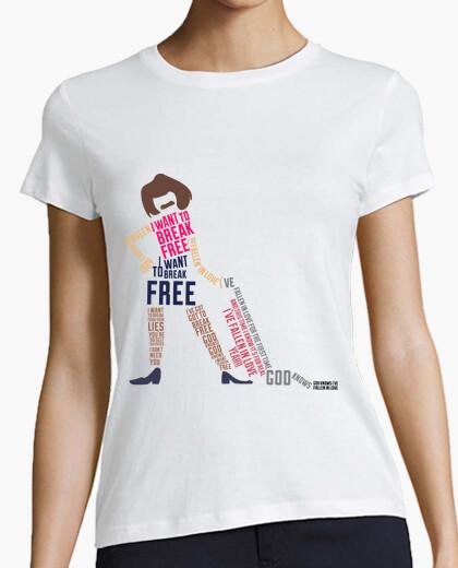 Camiseta mujer quiero Camiseta que mujer romper tCQrBhxdos