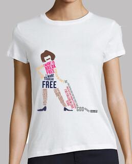 tee-shirt femme - je veux rompre