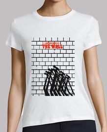tee-shirt femme - le mur