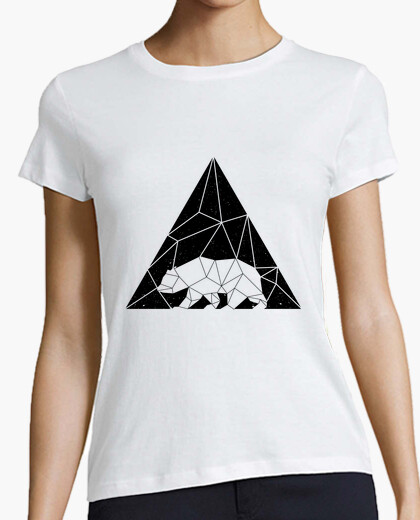 Tee-shirt Femme - Ours triangle