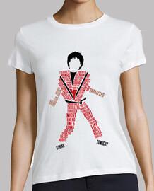 tee-shirt femme - thriller