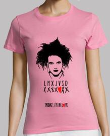 tee-shirt femme - vendredi dans l'amour