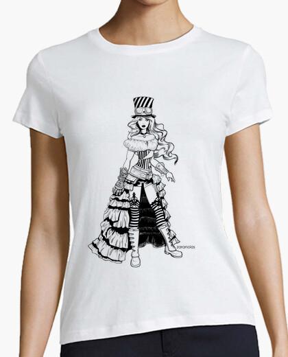 Tee-shirt fille punk à steam