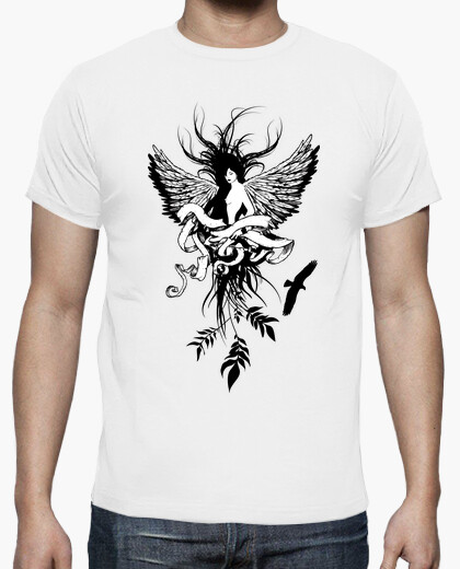 Tee-shirt Flying Girl