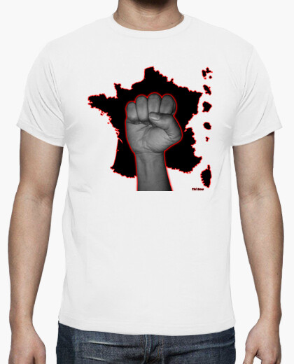 Tee-shirt France blanche