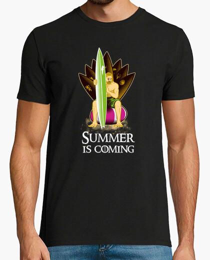 Tee-shirt Game of thrones: Summer is...