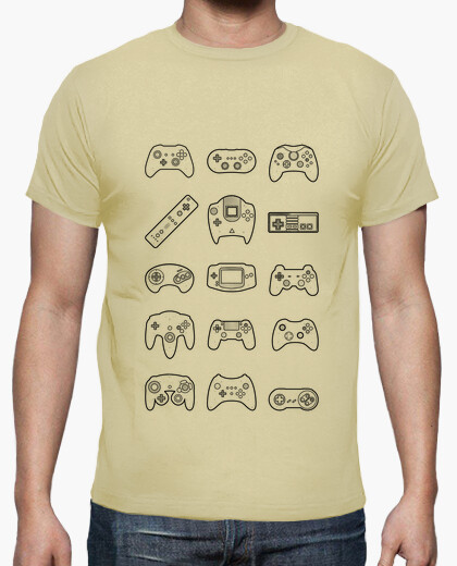 Tee-shirt Game room clair