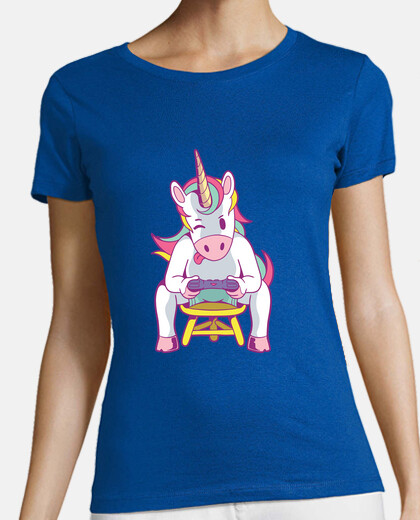 Tee-shirt gamer licorne