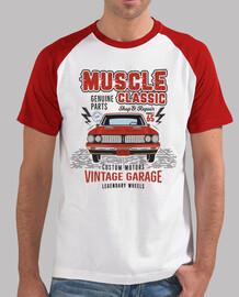 tee-shirt garage retro muscle car vintage 1965
