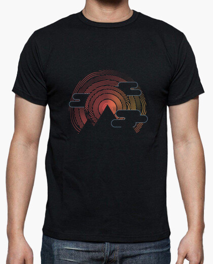 Tee-shirt Geometric mountain