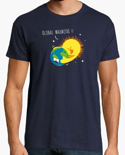 Tee-shirt Global warming