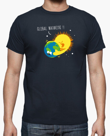 Tee-shirt Global warming
