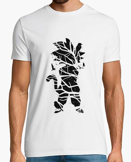 Tee-shirt Goku arbre