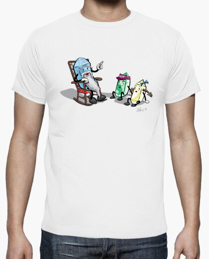 Tee-shirt grand-père zircon et ses...