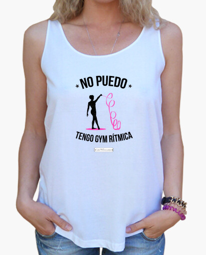 Tee-shirt gym rythmique