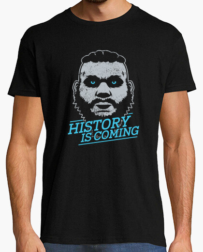 Tee-shirt History is Coming (White Theme)