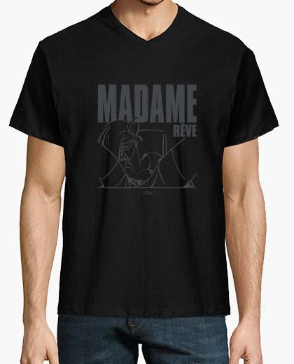 Tee-shirt Hn/ Madame rêve 2 gris by Stef