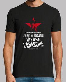 Tee-Shirt Homme - Alexandre Marius Jacob - Anarchiste