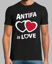 Tee-Shirt Homme - Antifa is love