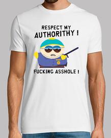 Tee-Shirt Homme - Cartman Respect My Authorithy