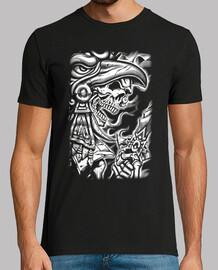 Tee-Shirt Homme - Dark Skull Azetk
