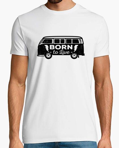 Tee-shirt Homme - Van Born to Live