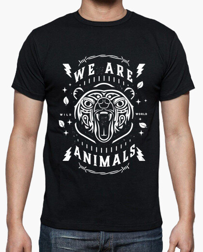 Tee-shirt Homme - WE ARE ANIMALS