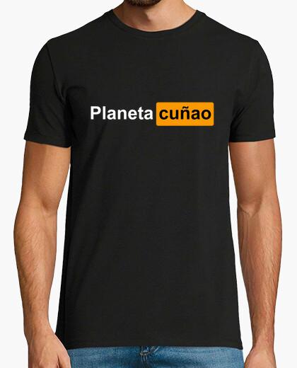 Tee-shirt hub de coin de planète