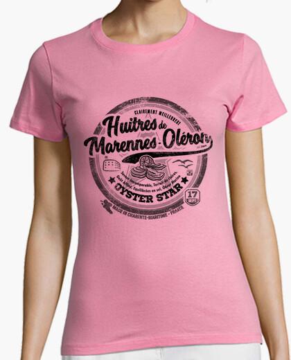 Tee-shirt Huîtres de Marennes-Oléron