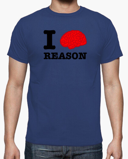 Tee-shirt i brain raison