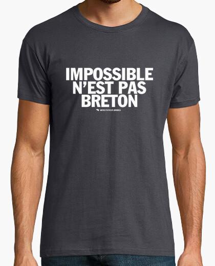 Tee-shirt Impossible n'est pas Breton - T-shirt homme