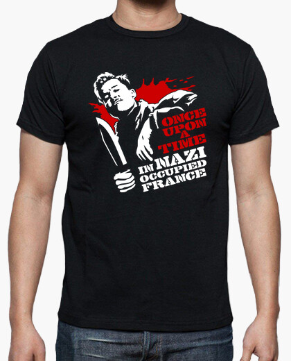 Tee-shirt Inglourious Basterds: Once Upon a Time...