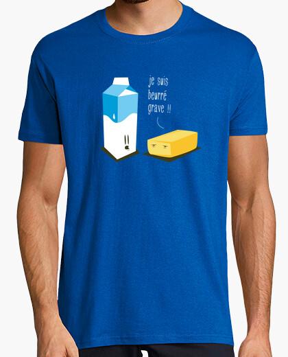 Tee-shirt Je suis beurré