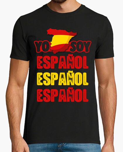 Tee-shirt Je suis Espagnol Espagnol Espagnol