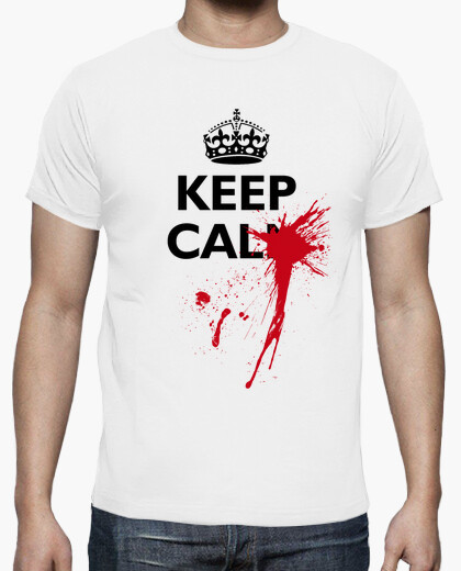 Tee-shirt keep calm aïe!