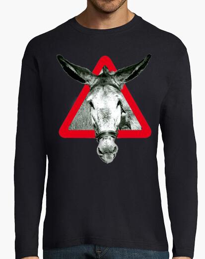 Tee-shirt l' âne est un âne par têtu...