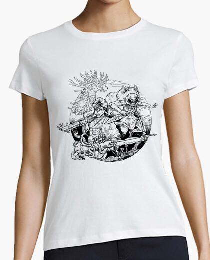 Tee-shirt la princesse et l'esprit de la...