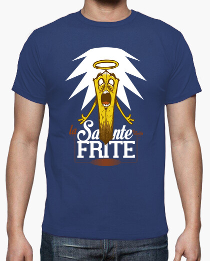 Tee-shirt La sainte Frite - Men/Grey